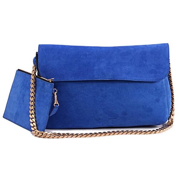 celine green suede handbag